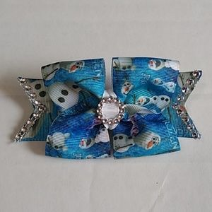 Hand crafted hair bow